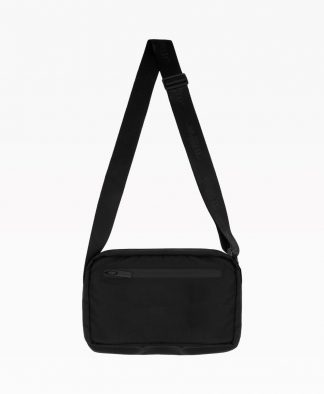 Wasted Messenger Bag Black Back