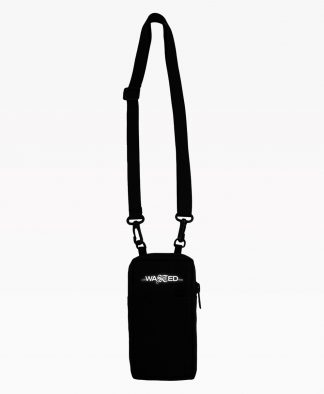 Wasted Pouch Bag Black Front2