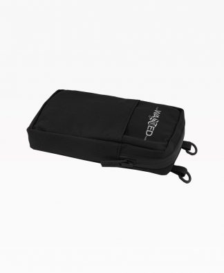 Wasted Pouch Bag Black Front3