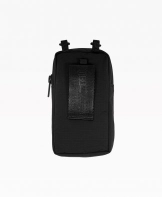 Wasted Pouch Bag Black Front4