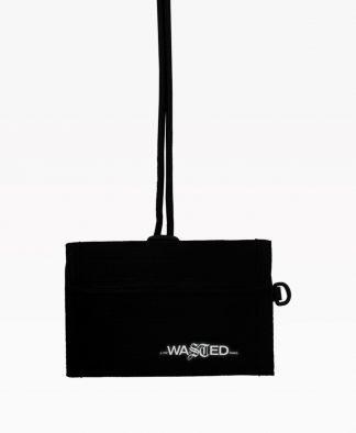 Wasted Summer Wallet Black Front2