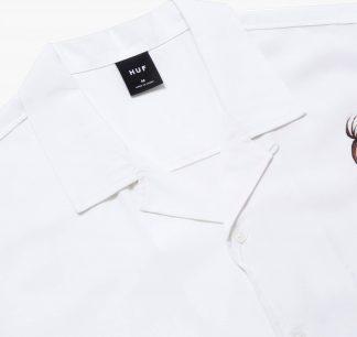 Huf Chun Li Resort Shirt White Detail