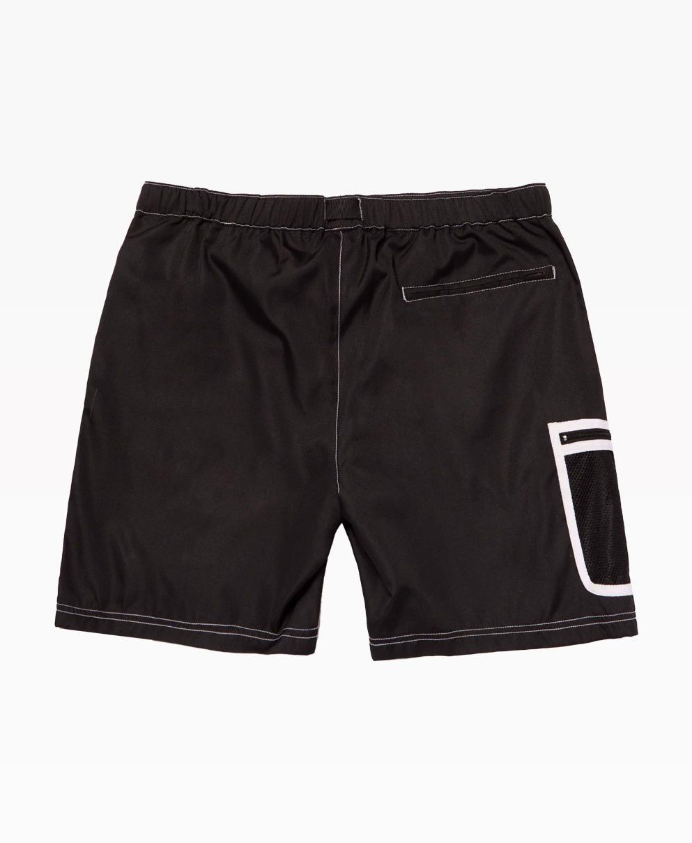 Huf Peak Contrast Short Black Back