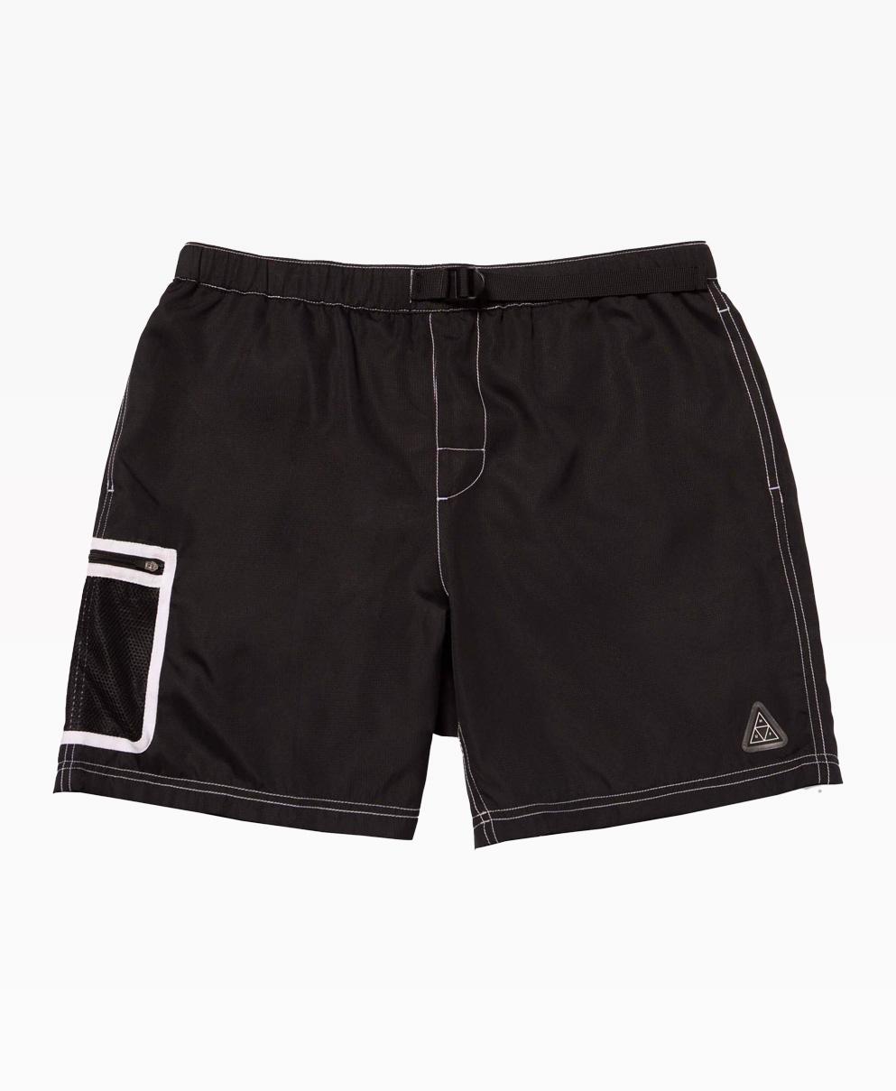Huf Peak Contrast Short Black Front