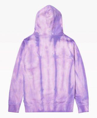 Huf Relax Tie Dye Hoodie Violet Back