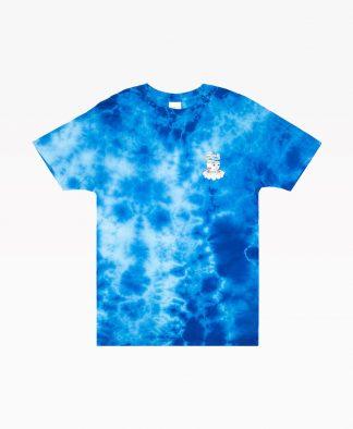 Ripndip Imagine Tee Blue Tie Dye Front