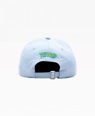 Ripndip Nermby Dad Hat Light Blue Back