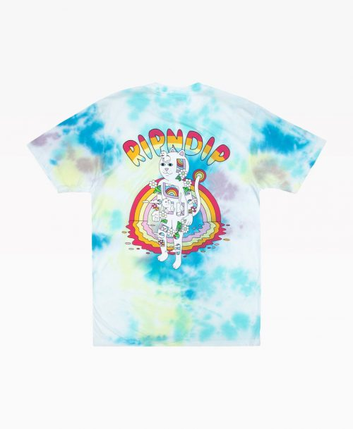 Ripndip Out Of The Box Tee Tie Dye Back