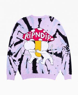 Ripndip Sharing Is Caring Crewneck Knit Sweater Back