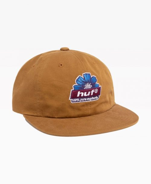 Huf 6 Panel Hat Pure Front