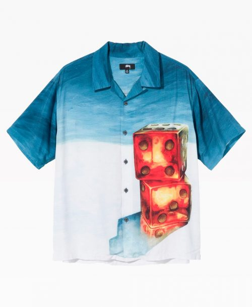 Stussy Dice Painting Shirt Front