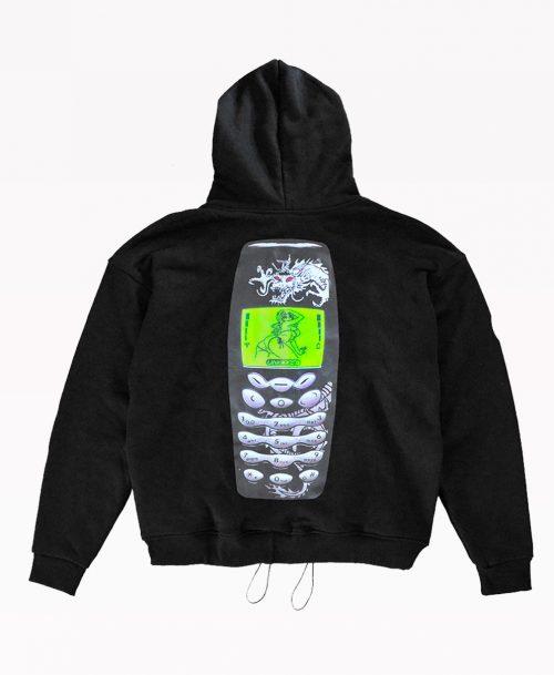 Nokia Hoodie Back
