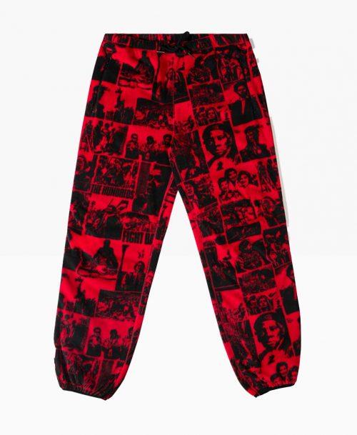 Polar Fleece Pant Red Front